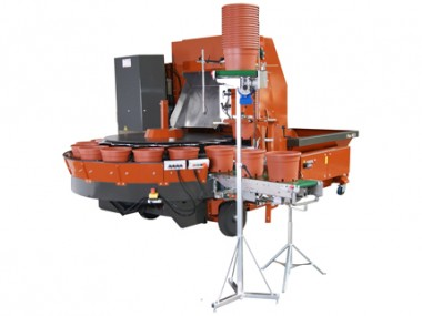 Potting machines
